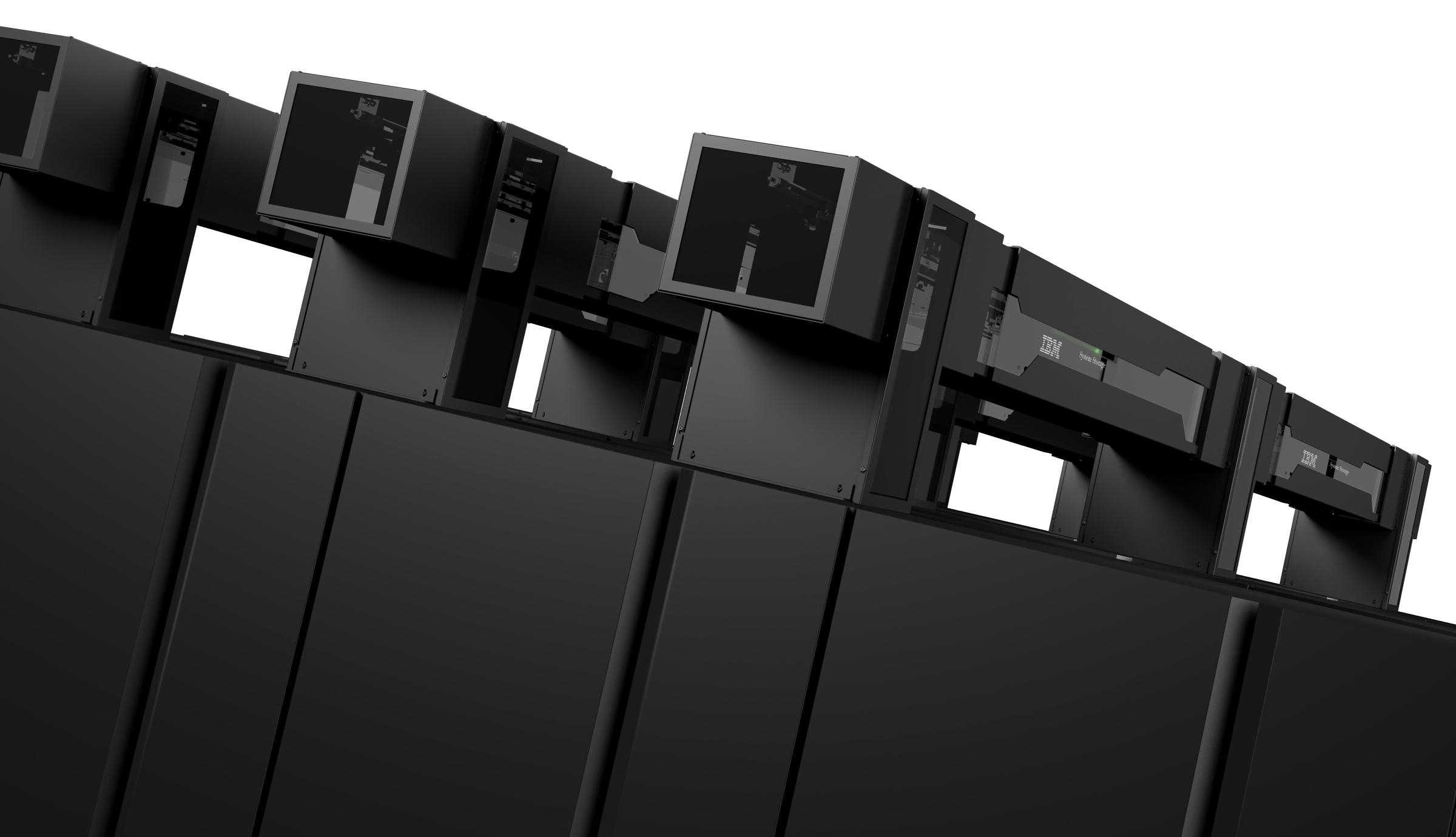 Ibm System Storage Ts3500 High Density Tape System By