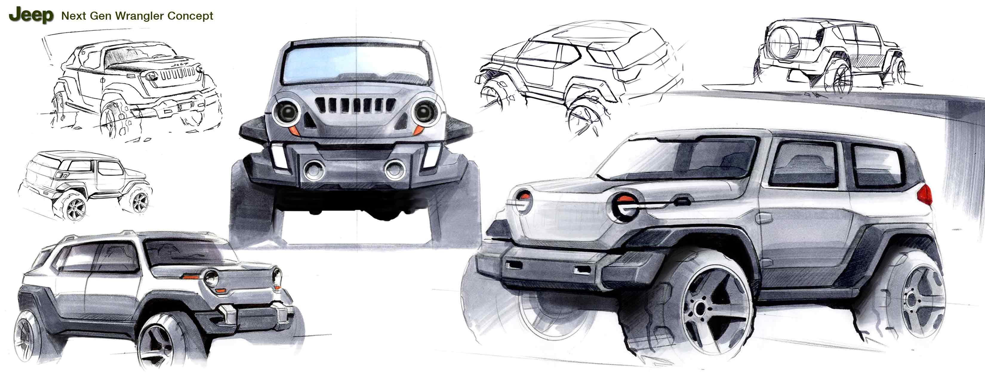 Jeep Chrysler Concept Work By Kevin J Chun Chuntek