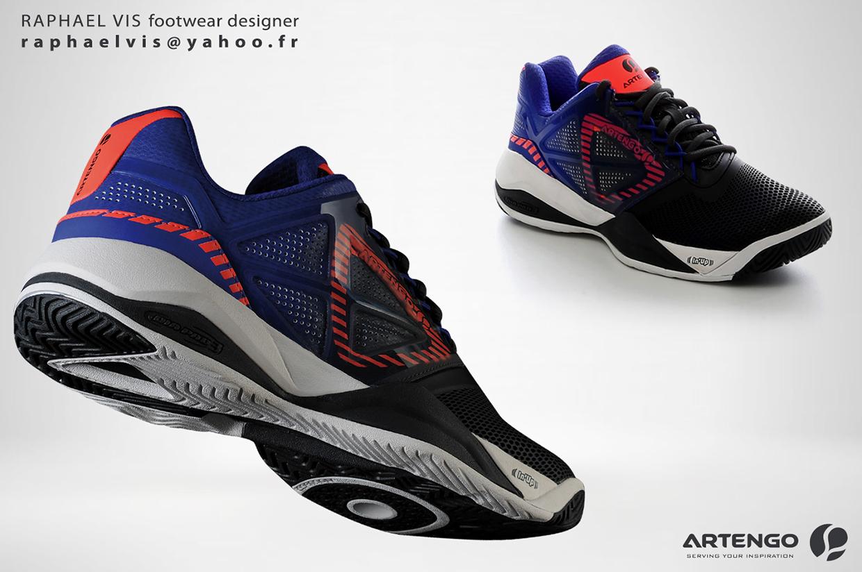tennis pro player shoes artengo ts900m by raphael vis