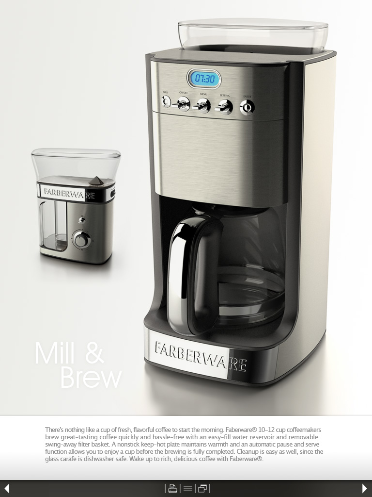 Farberware Coffee Maker Guide : Farberware Coffee Maker by Hugo Cailleton at Coroflot.com