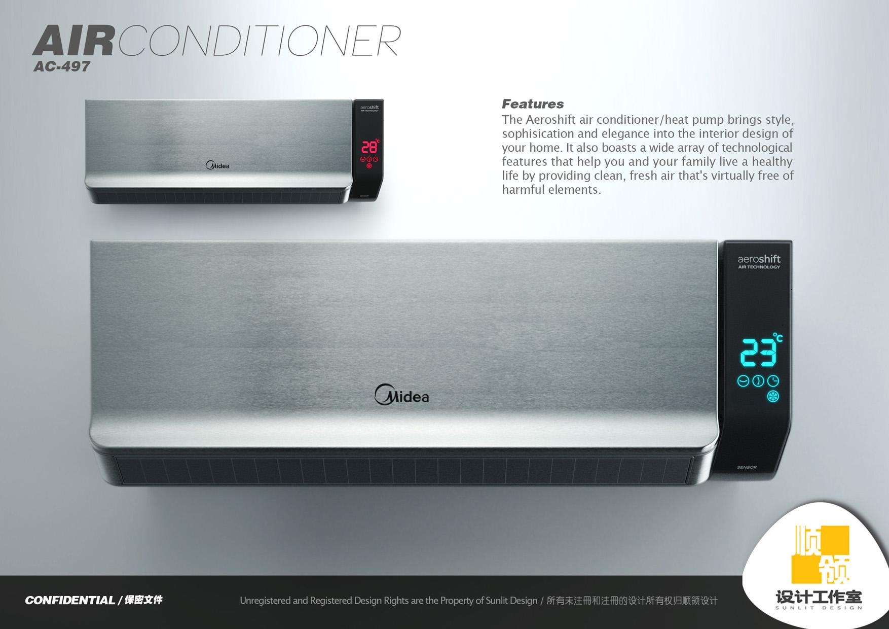 Midea Air Conditioner by Hugo Cailleton at Coroflot.com #CB9700