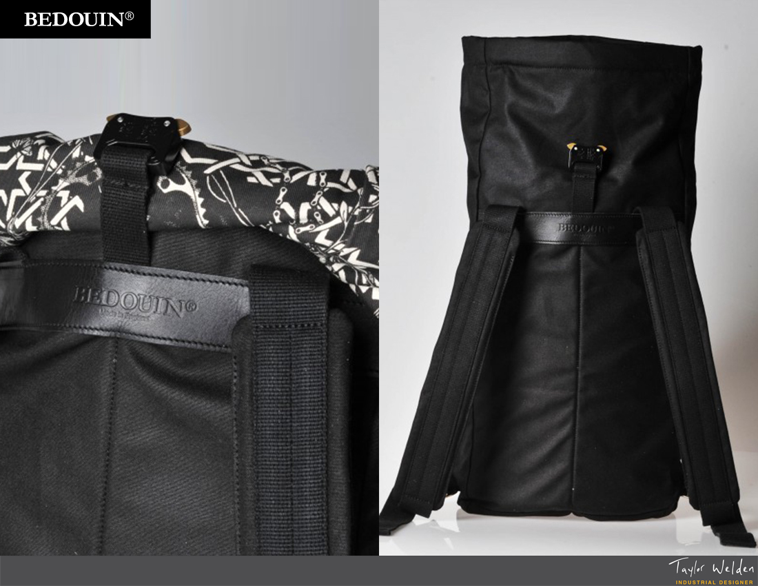 Bedouin Delireis Roll Top Backpack By Taylor Welden