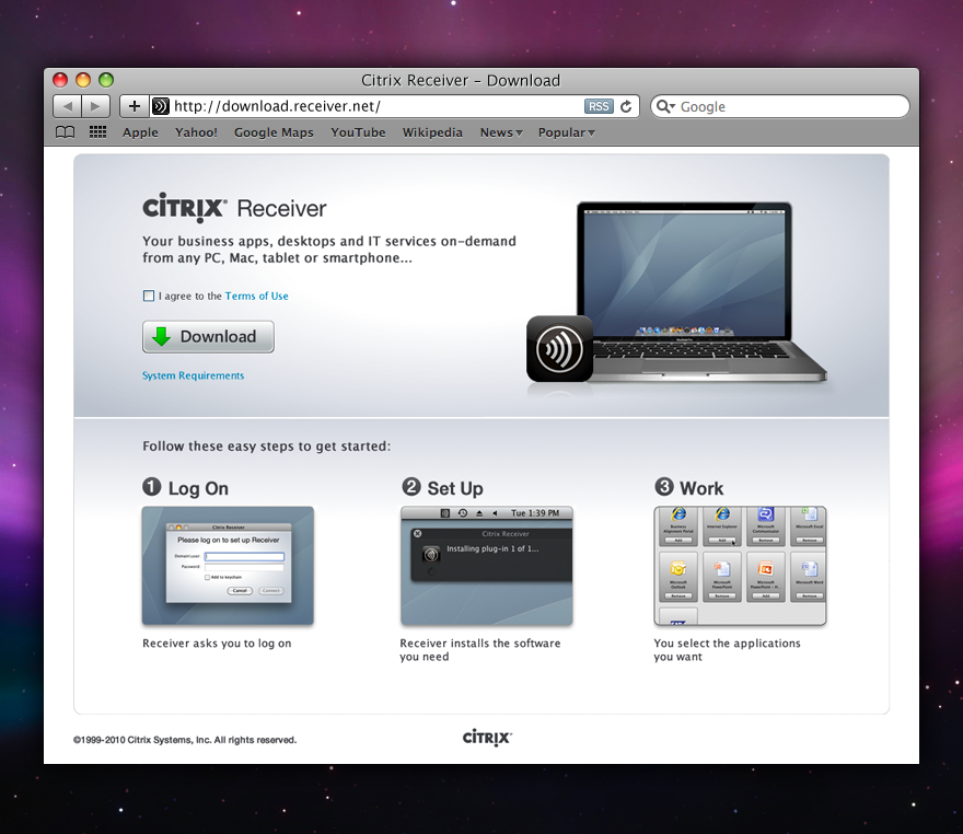 download citrix receiver for windows
