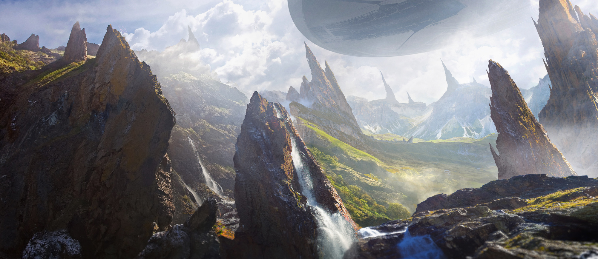 Matte painting by dmitry zaviyalov at for Matte painting