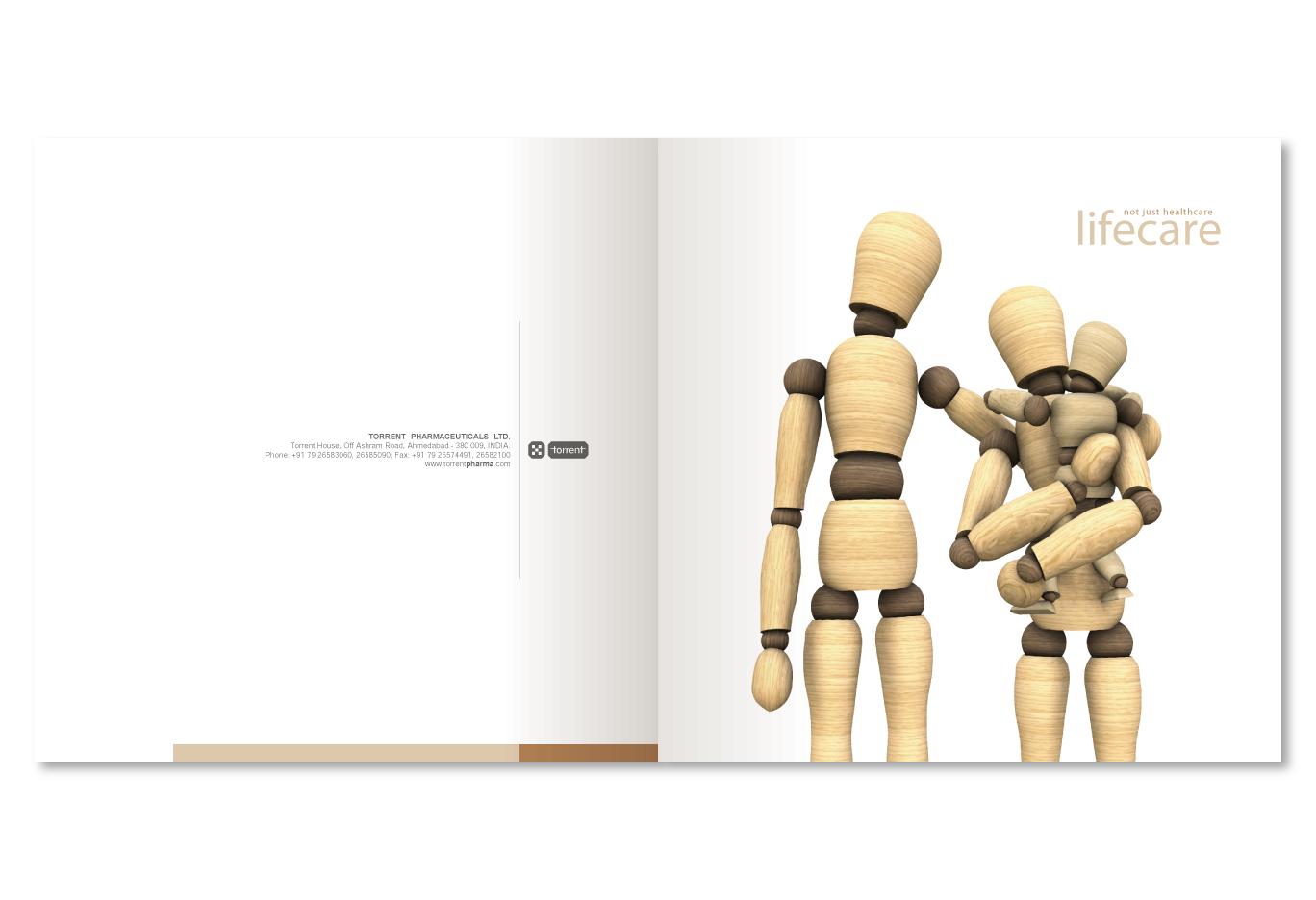 Brochure book design by sudhir kuduchkar at coroflot com