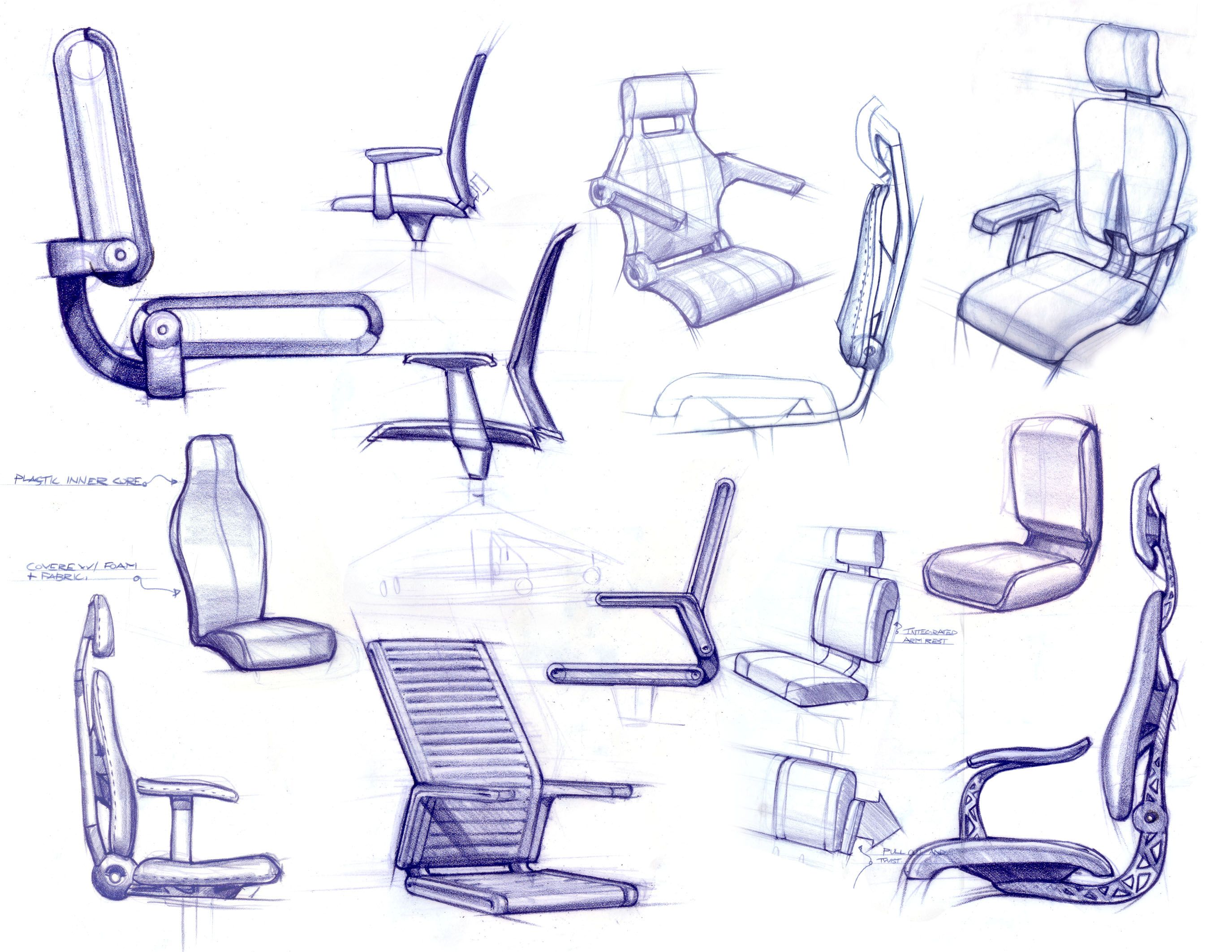 Furniture by ryan dart at for Furniture sketch design