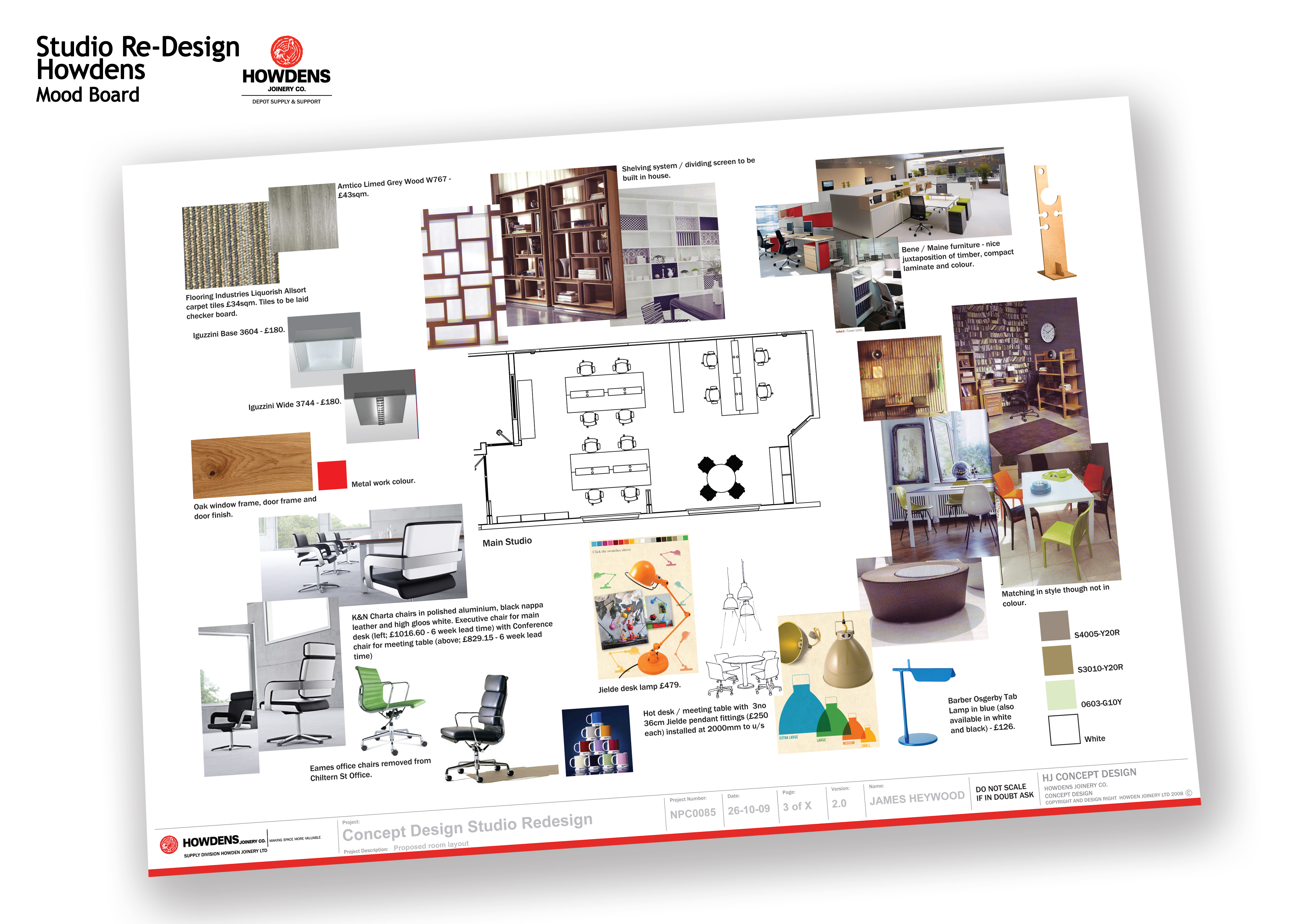 Updated sep 2010 by james heywood at for Office design board