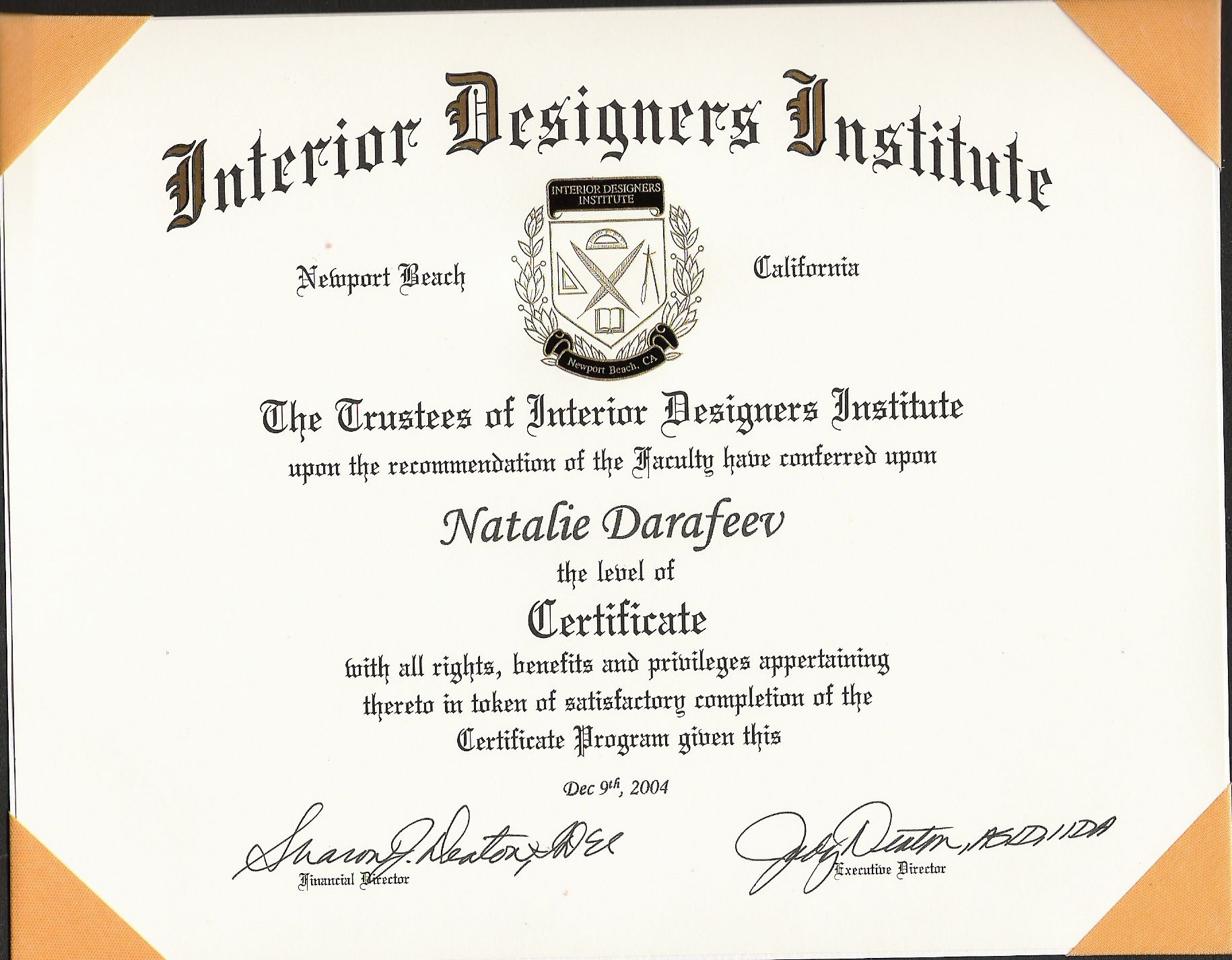 Custom Home Plans Interior Design Certification: associates degree in fashion design online