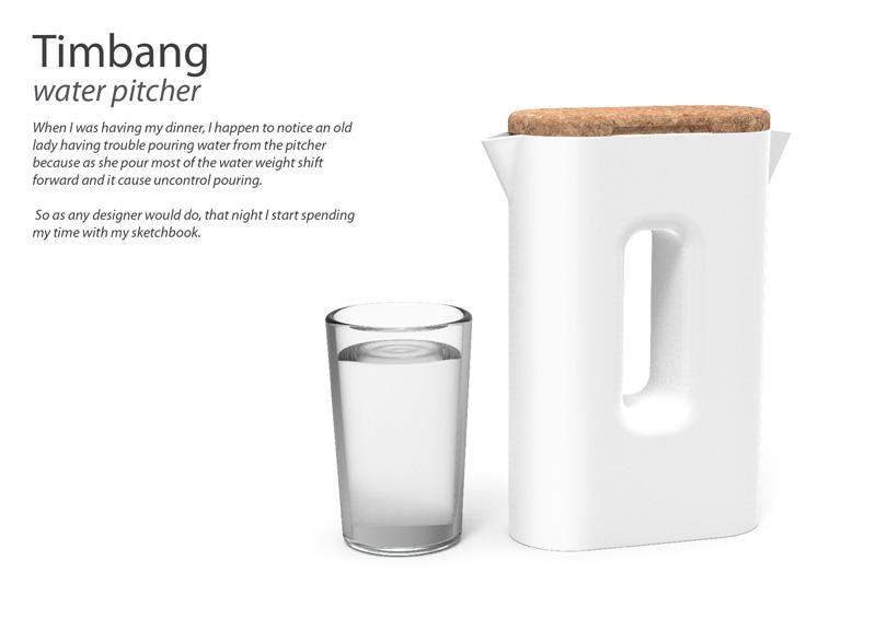 timbang water pitcher by yopi djauhari at coroflotcom