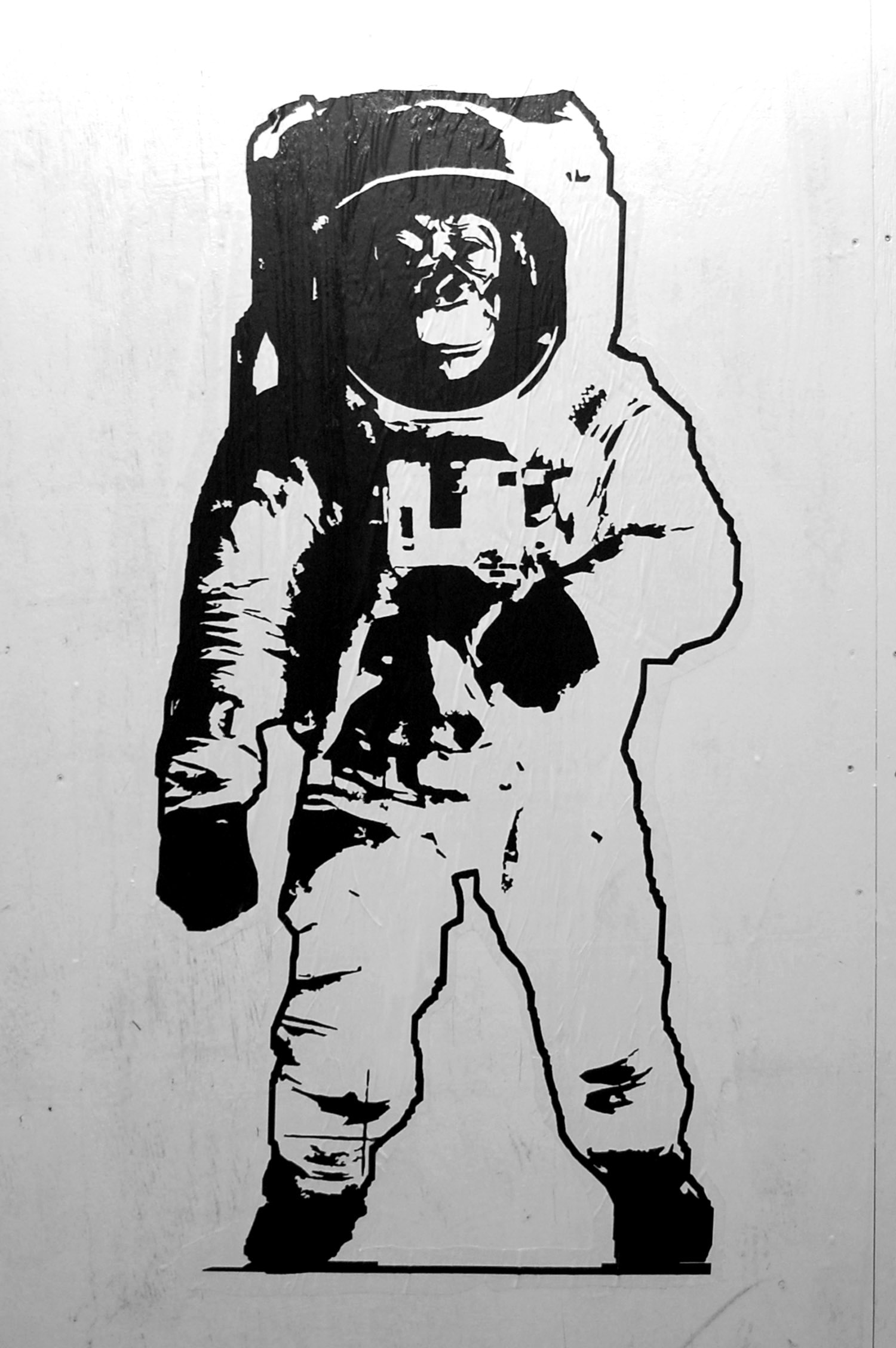 simple astronaut stencil - photo #16