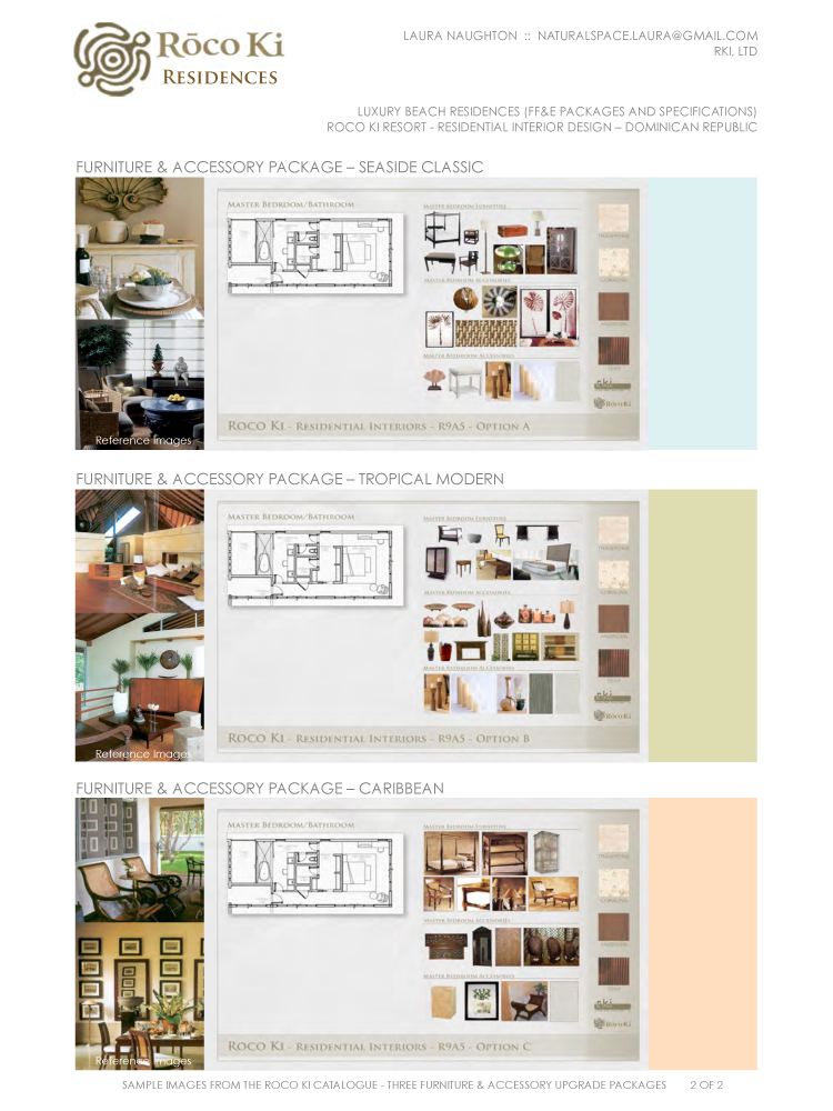 Interior Design Project Boards By Laura Naughton At