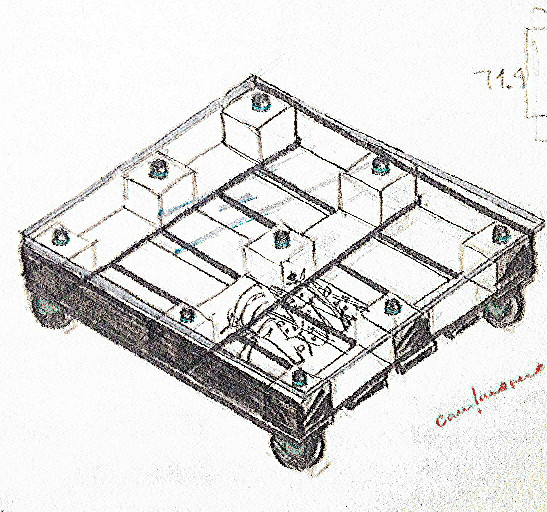 Furniture design by camila moreno at coroflot coffee table sketches geotapseo Gallery