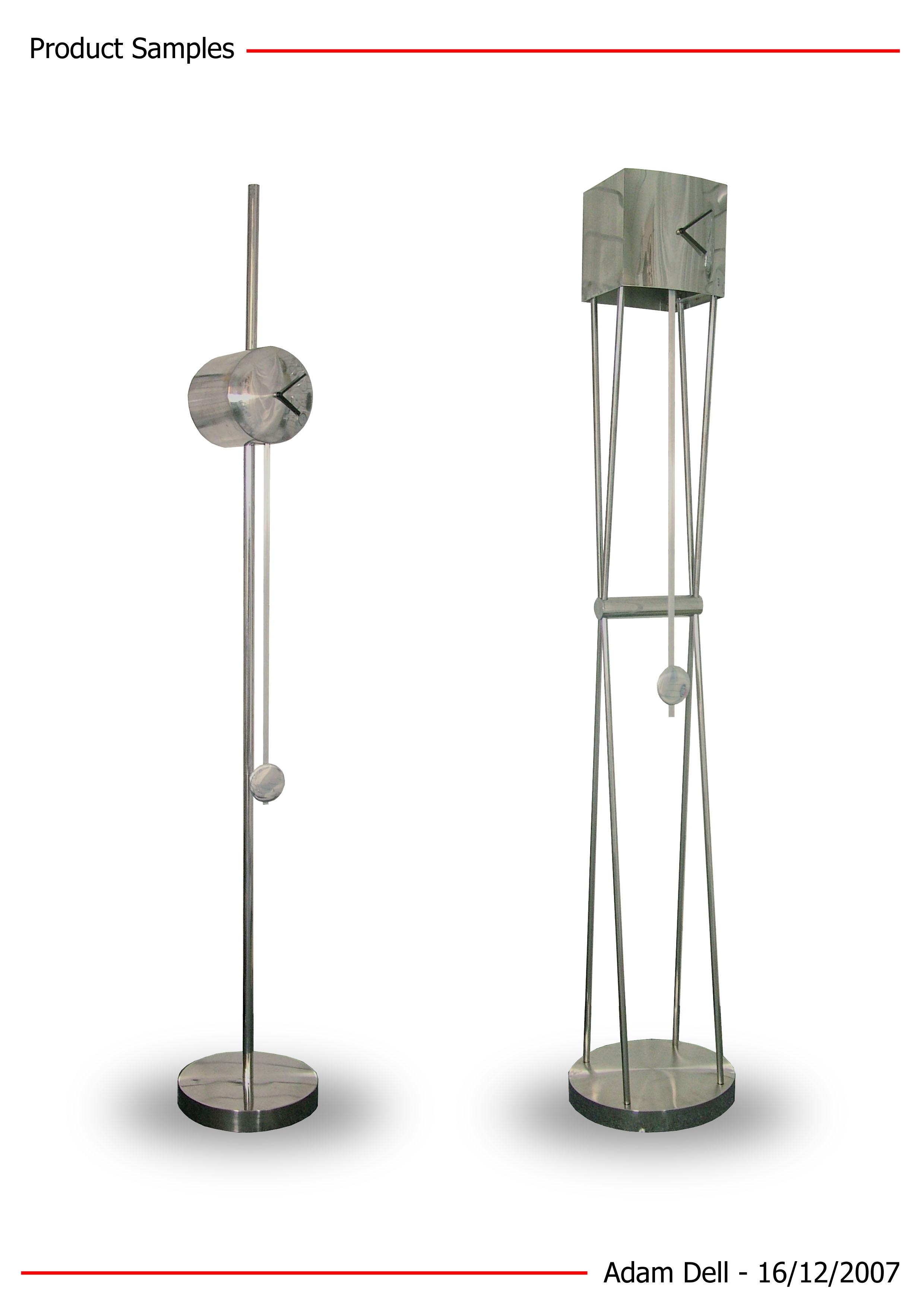 Modern Floor Standing Clock By Adam Dell At