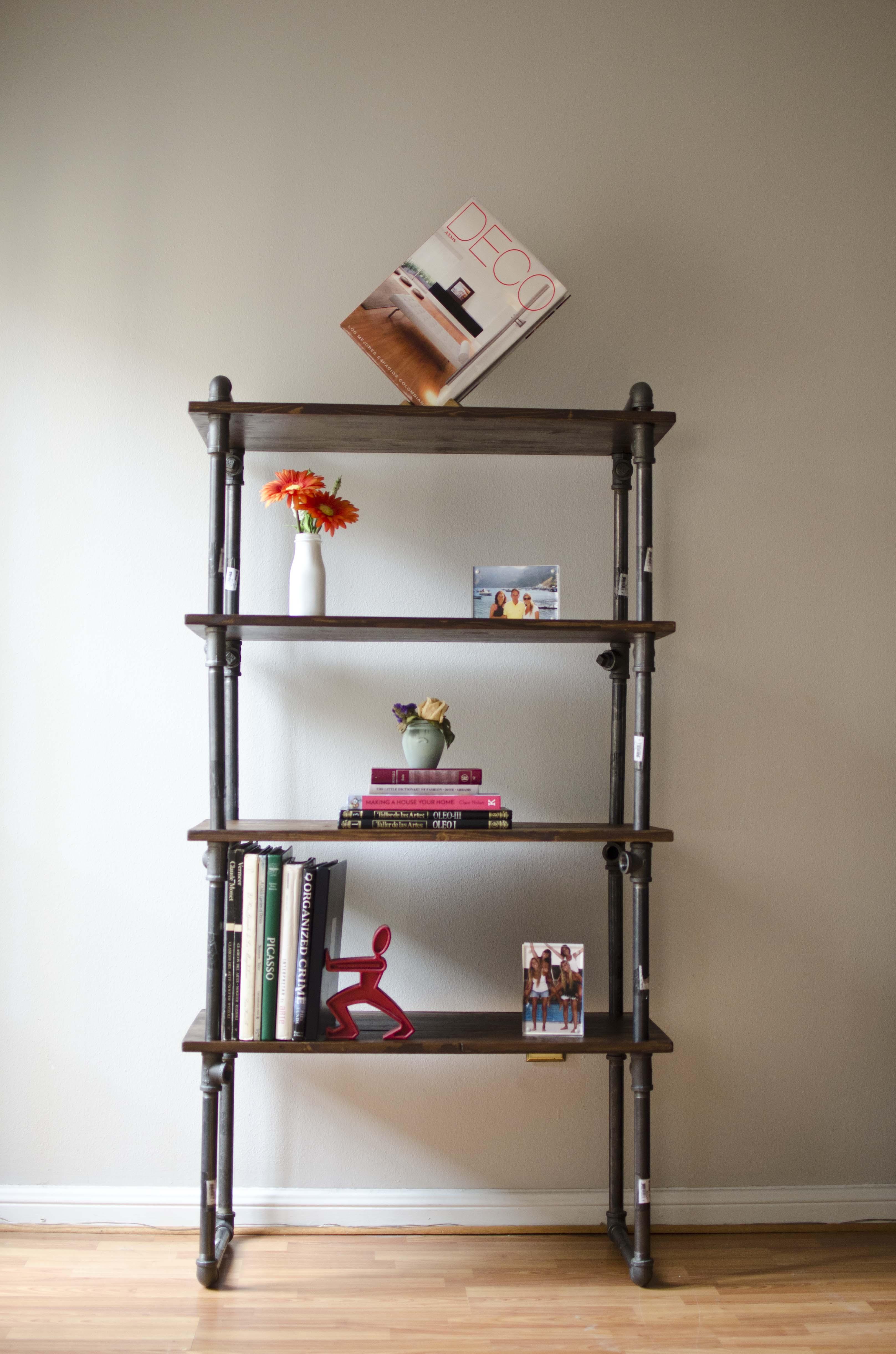 Gas Pipe Furniture Shelf By Juan Boada At Coroflot Com