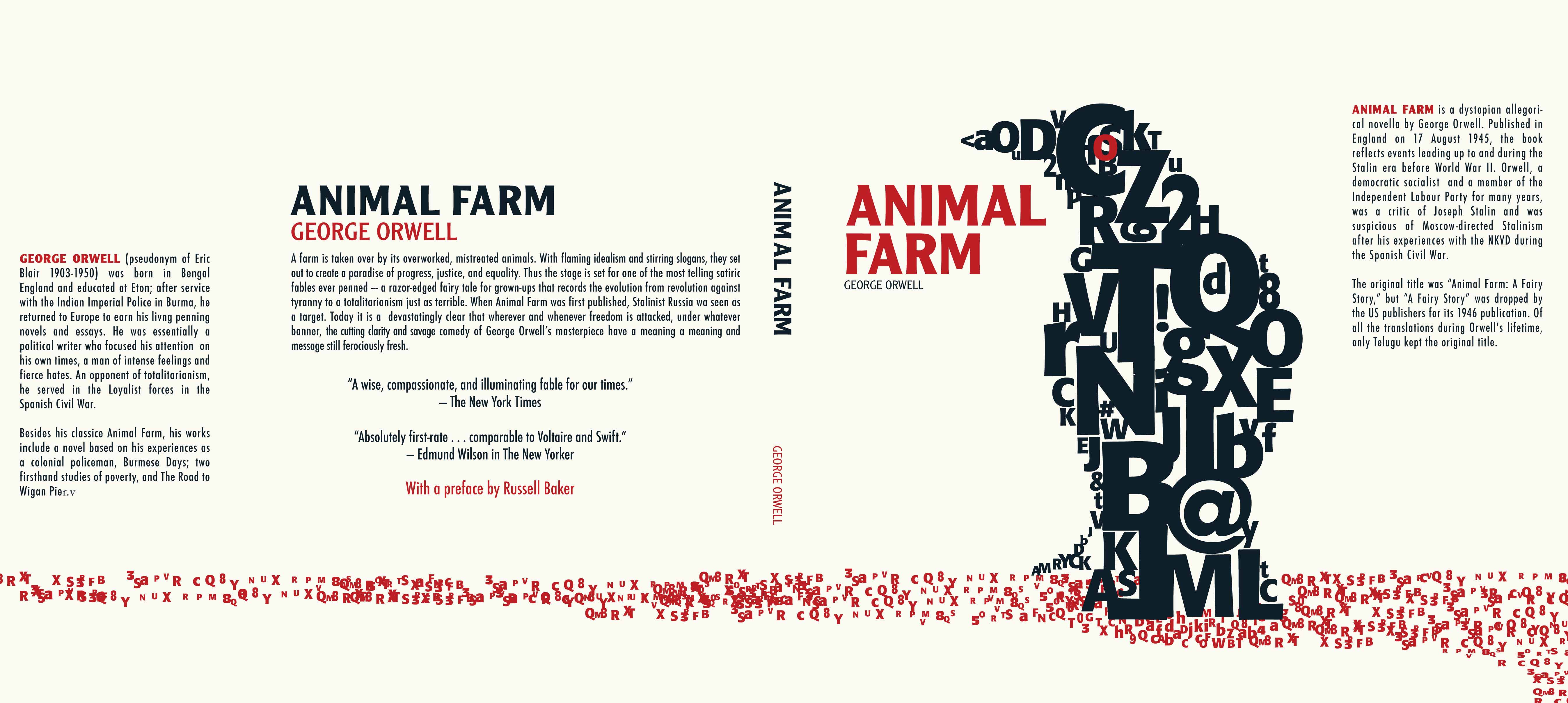 a summary of george orwells animal farm Plot summary old major, the old fully authorised by the estate of george orwell, animal farm is created by an independent team formed specifically to.