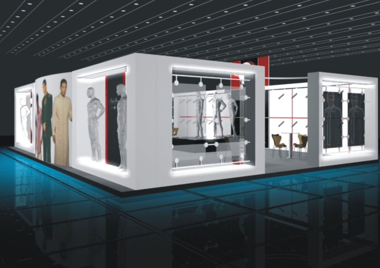 Exhibition Stall Design For Garments : Exhibition designs by sameer controllu at coroflot
