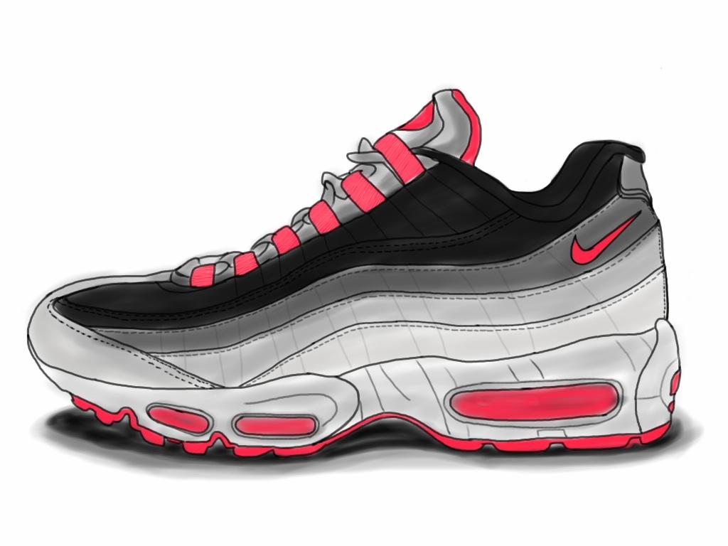 Nike Air Max 95 Infrared