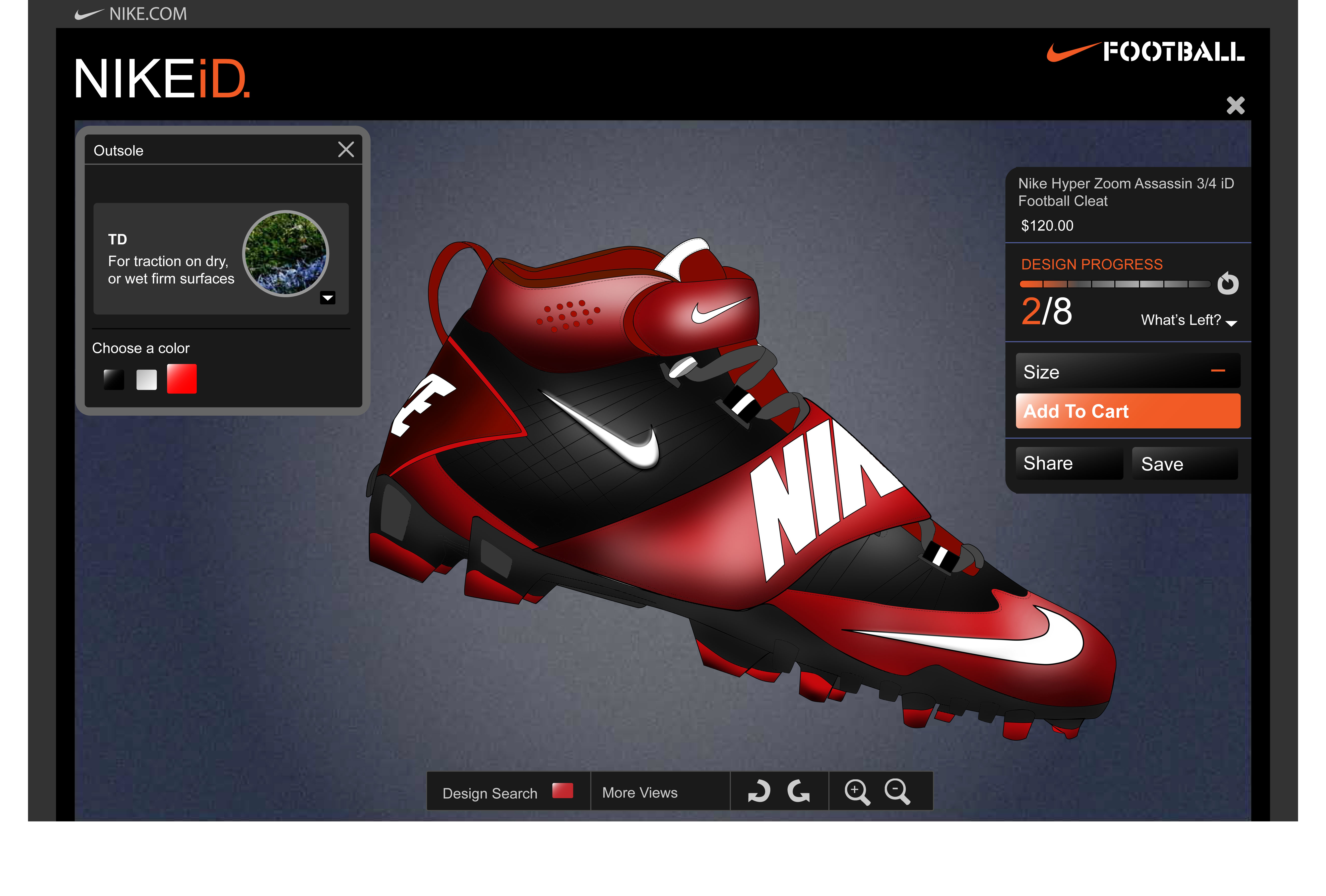 customize with nikeid