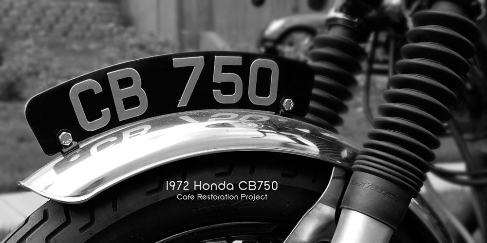cb750 cafe racer. 1972 CB750 Cafe Racer