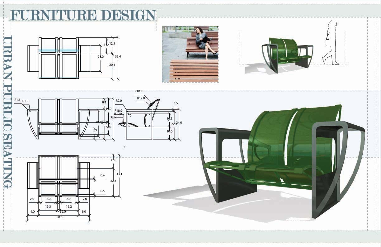Furniture design by travis coe at for Chair design drawing