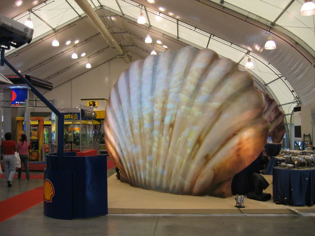 Exhibition Shell Jobs : Shell exhibit booth by justin teh at coroflot