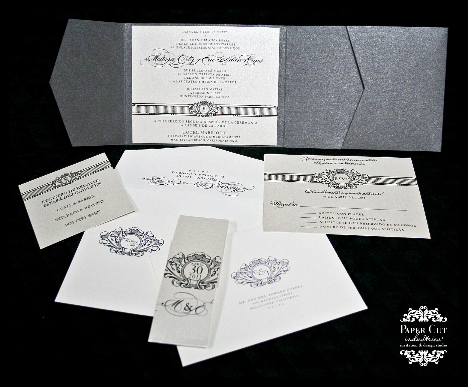 wedding invitations in spanish wedding invitations in spanish silver wedding invitation spanish wedding invitations