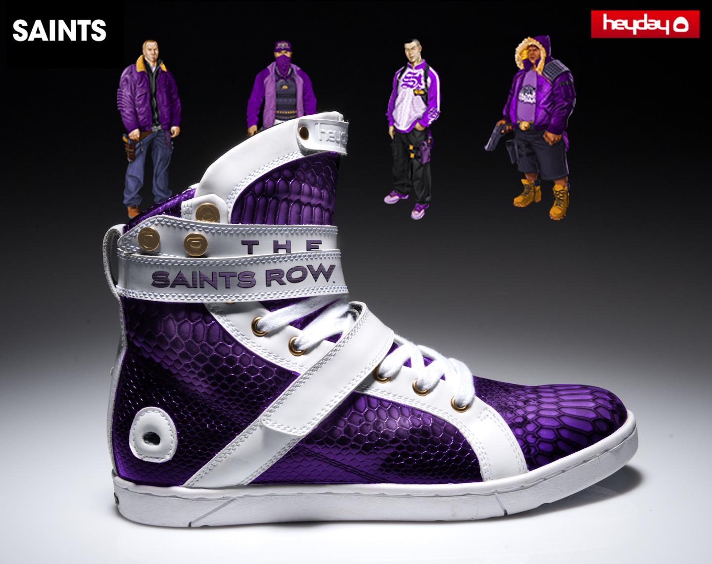 Heyday Footwear X Saints Row The Third By Darin Hager At