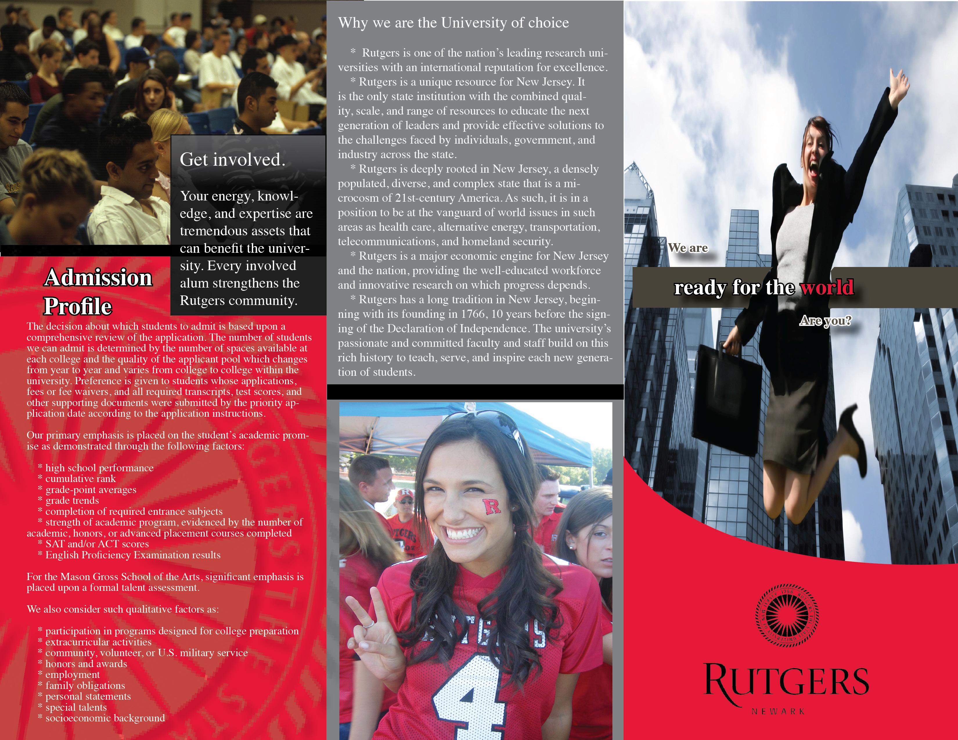 Professional Work by Jamie Kovacs at Coroflot – College Brochure