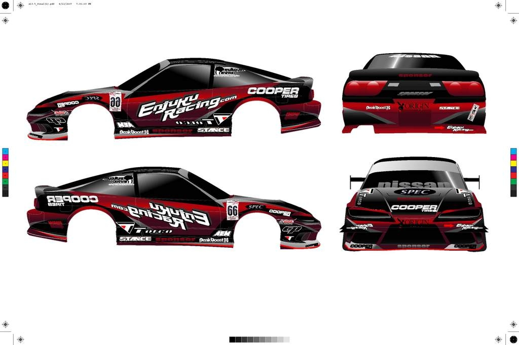 Drift Car Graphics by Chris Suan at Coroflot.com