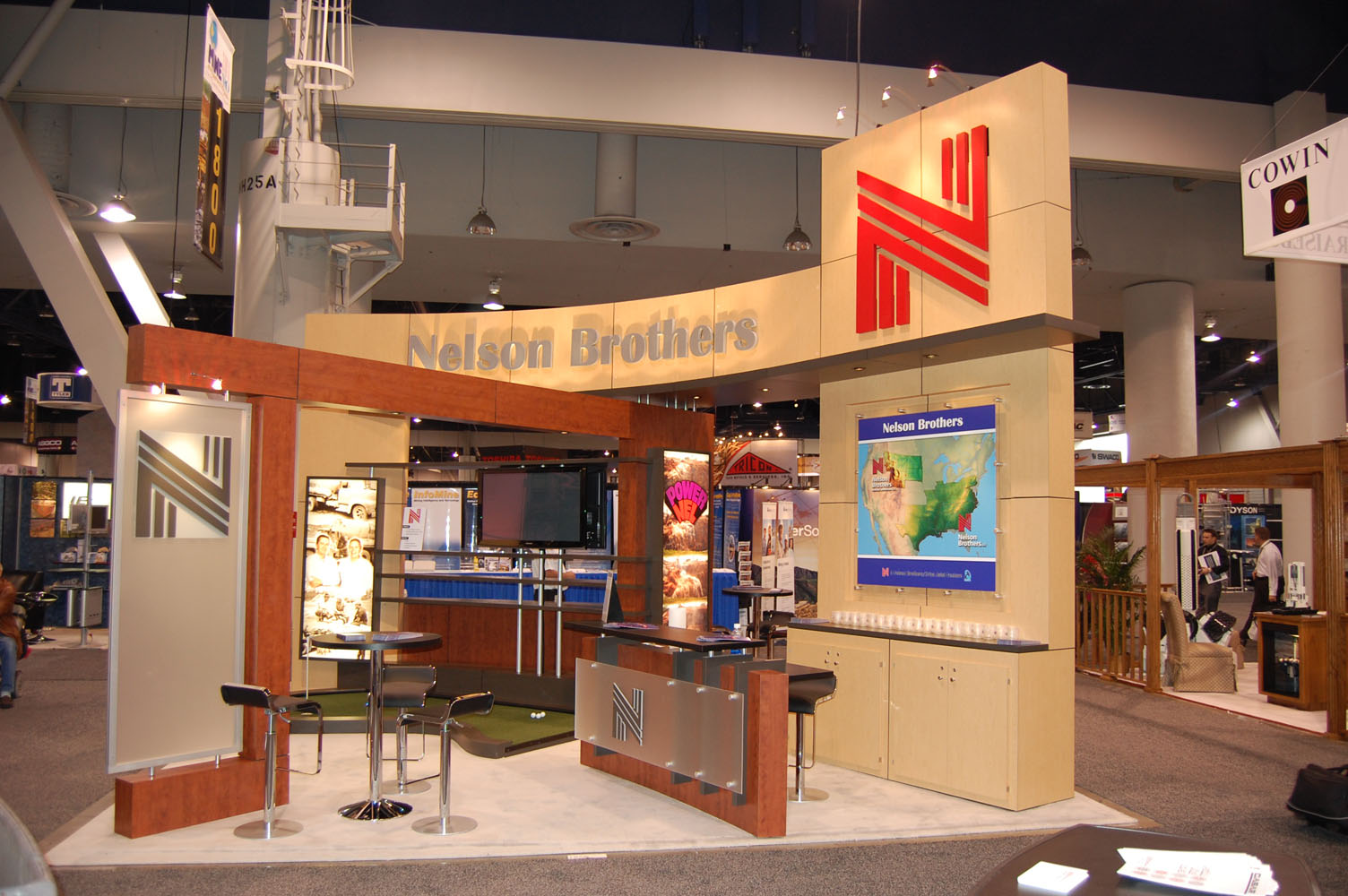 Trade Show Booth Builders : Nelson brothers by josh ascolese at coroflot