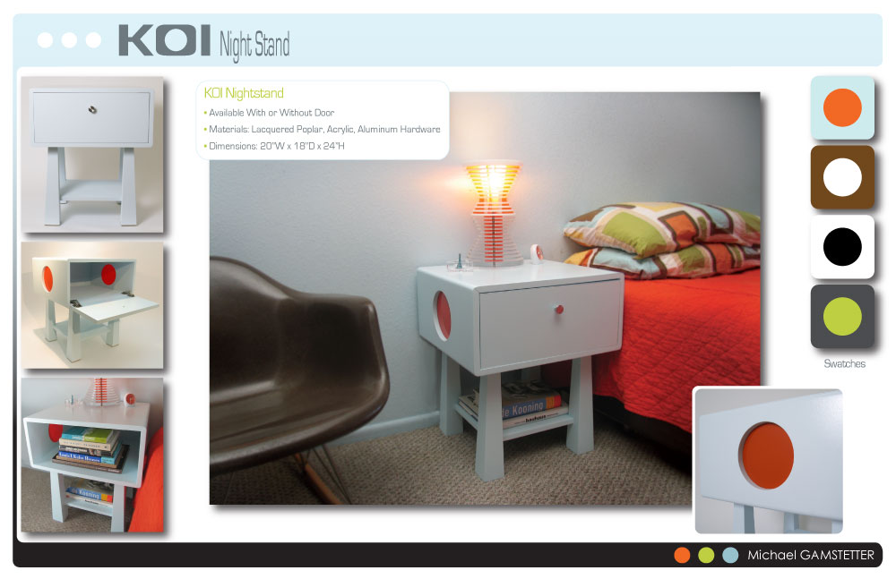 Koi furniture by michael gamstetter at for Koi furniture