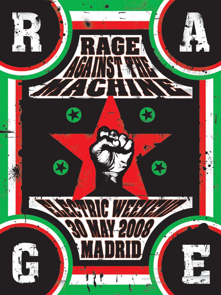 rage against the machine im housin