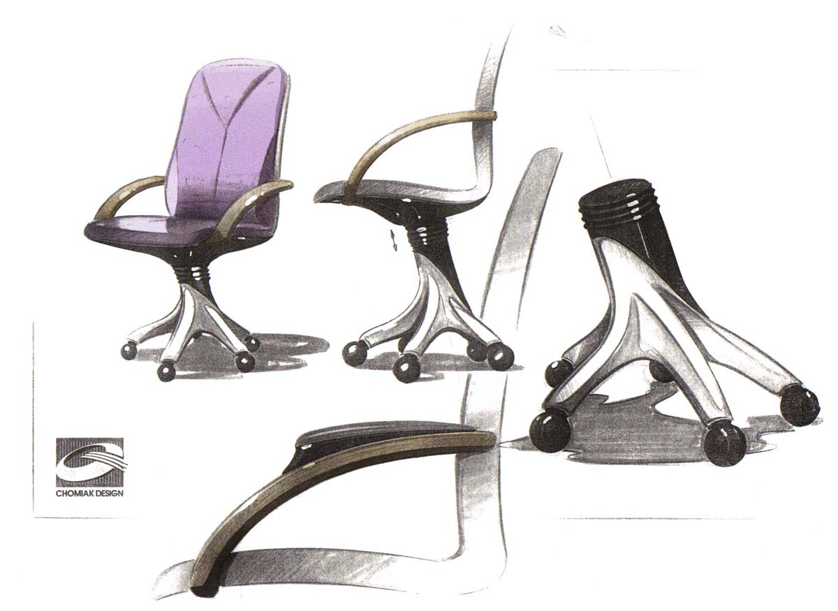 Product design by gary major at for Product design chair