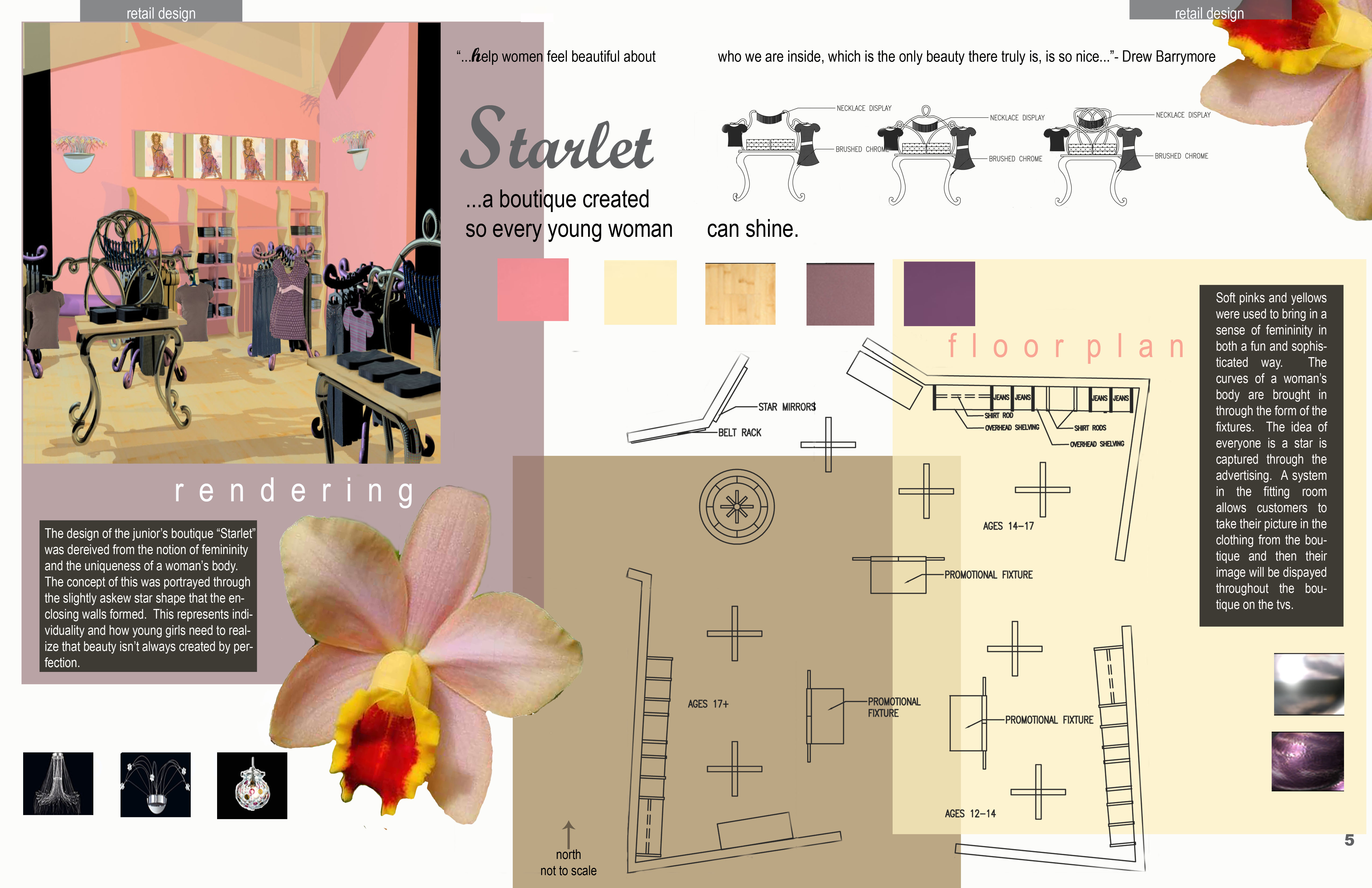 Senior interior design portfolio by melissa buck at Fit interior design portfolio