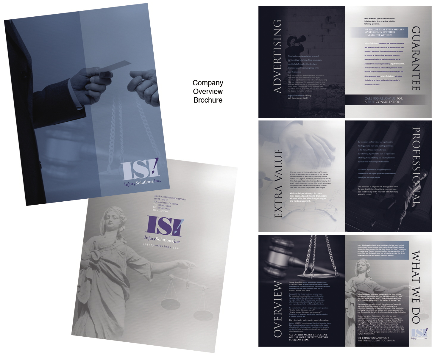 BROCHURE by annette steiner at Coroflot – Law Firm Brochure