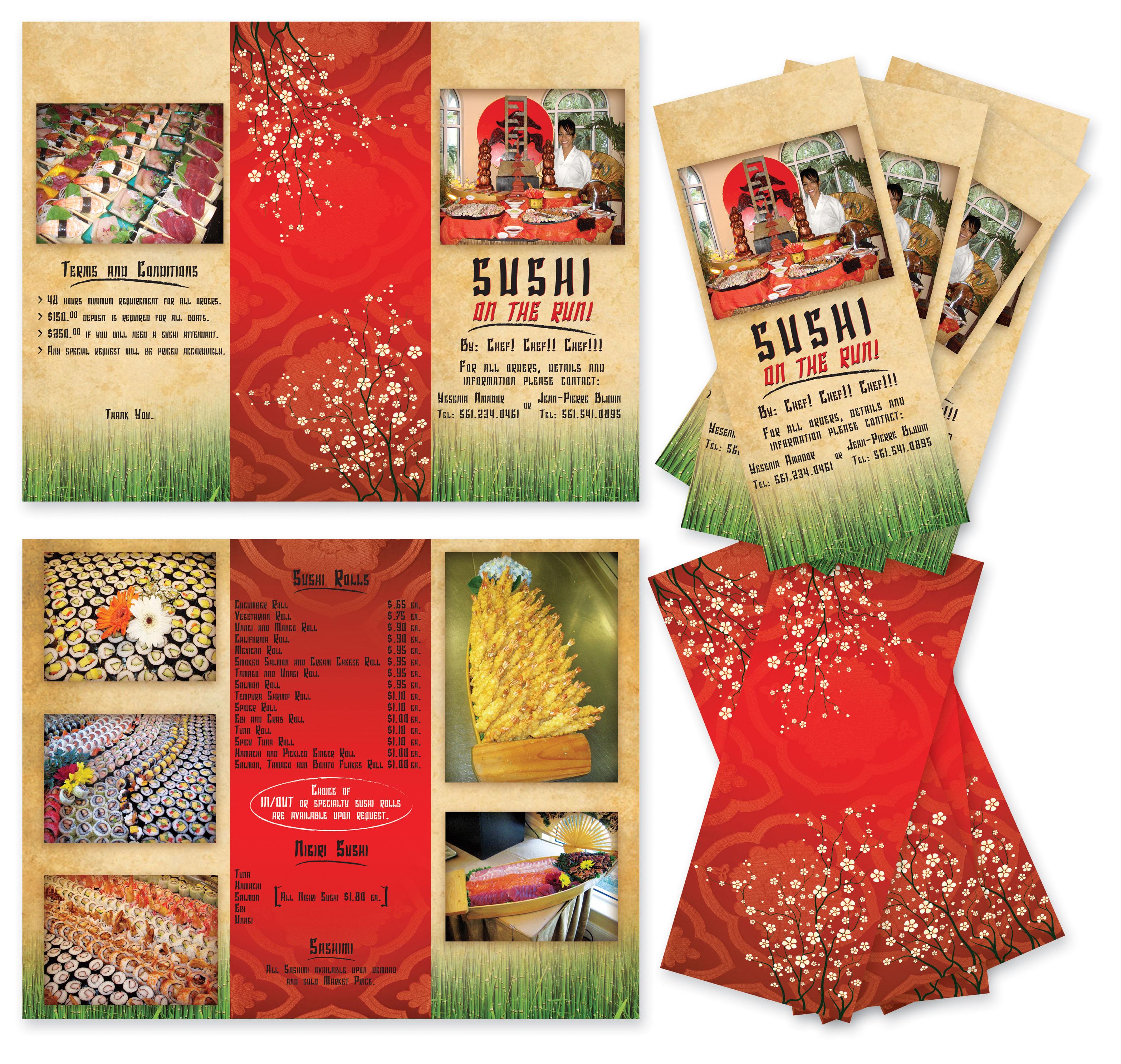 Brochures by Carmen Herrera at Coroflot.com