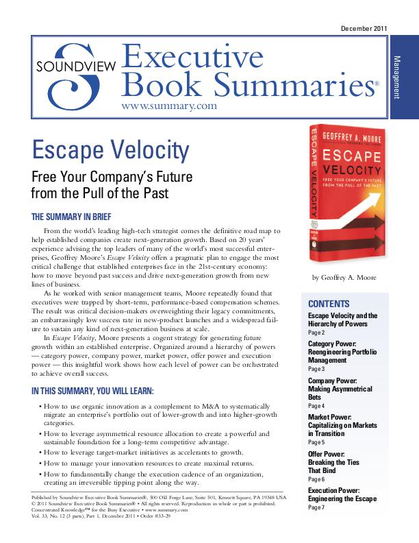 exec book summaries soundview executive