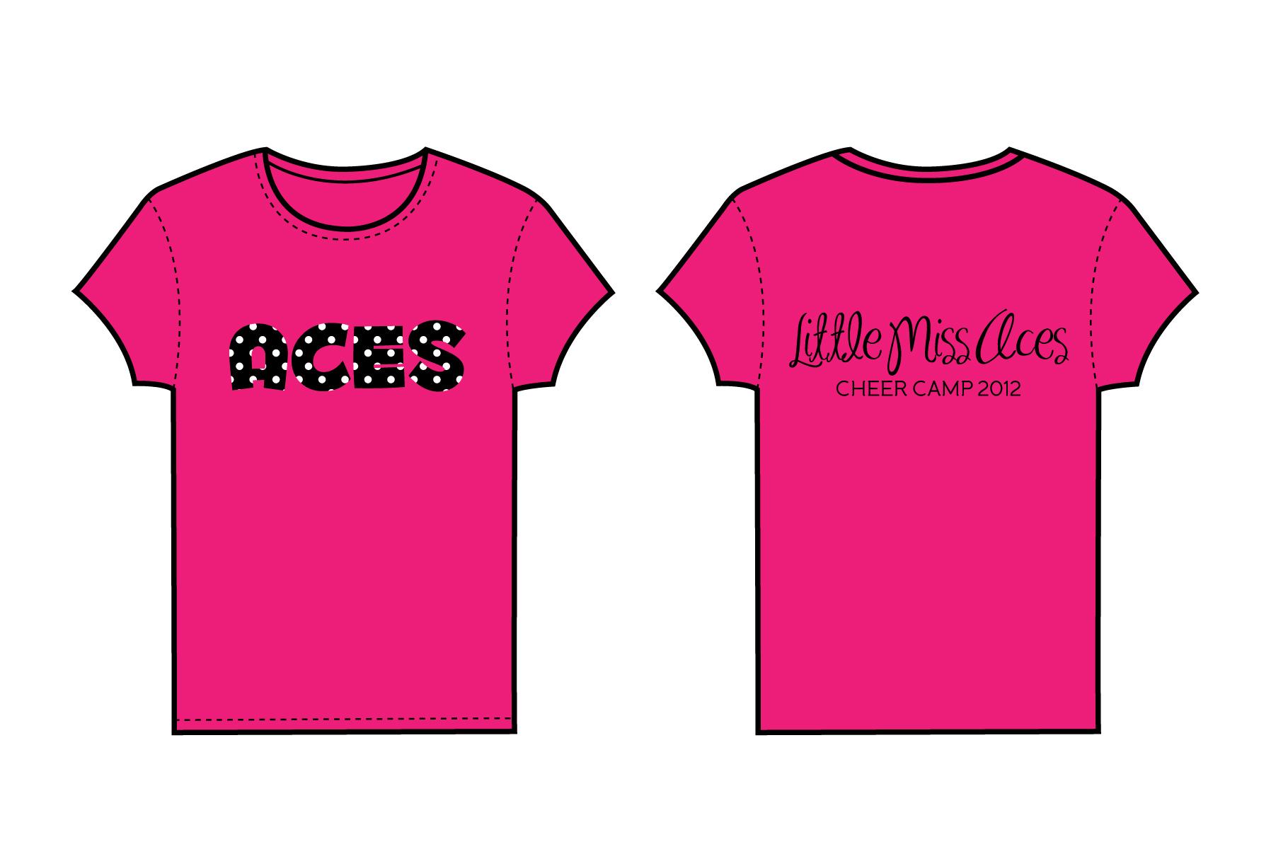 cheerleading shirt designs ideas aces cheer camp custom