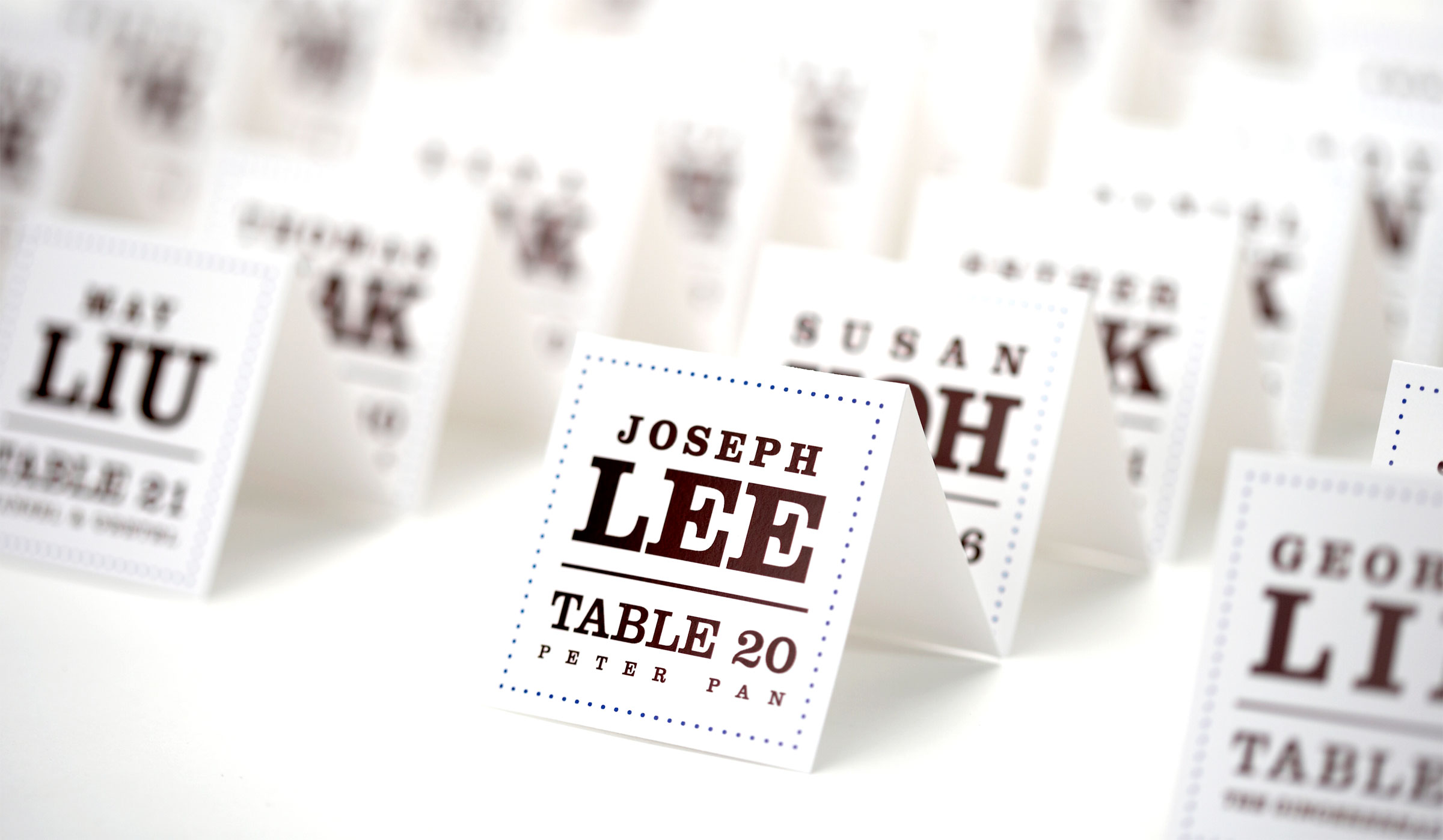Table name tags for weddings images for Design table name cards