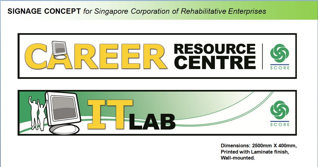 Design Projects for Singapore Corporation of Rehabilitive ...