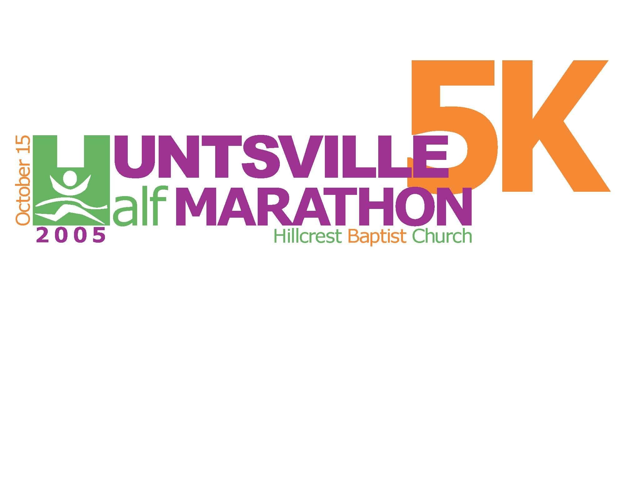 T shirt design huntsville al - Huntsville 5k Half Marathon T Shirt Design T Shirt Design For The Huntsville 5k Half Marathon