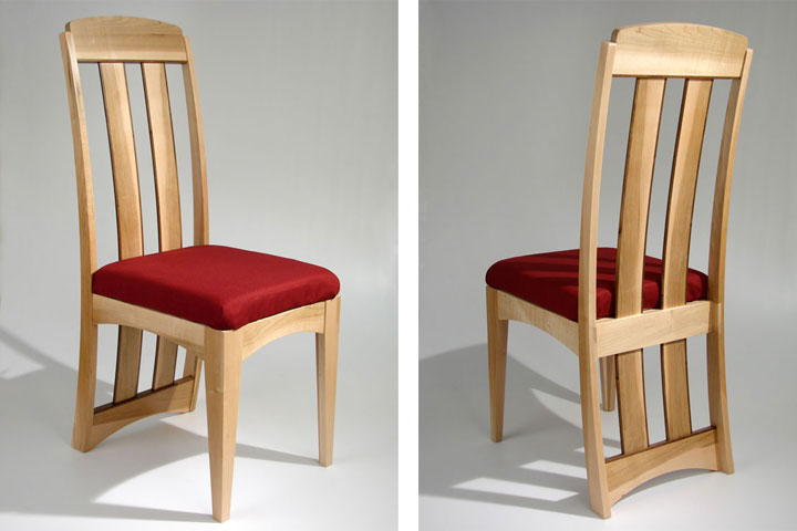 Solid Maple Dining Chairs Creepingthyme Info