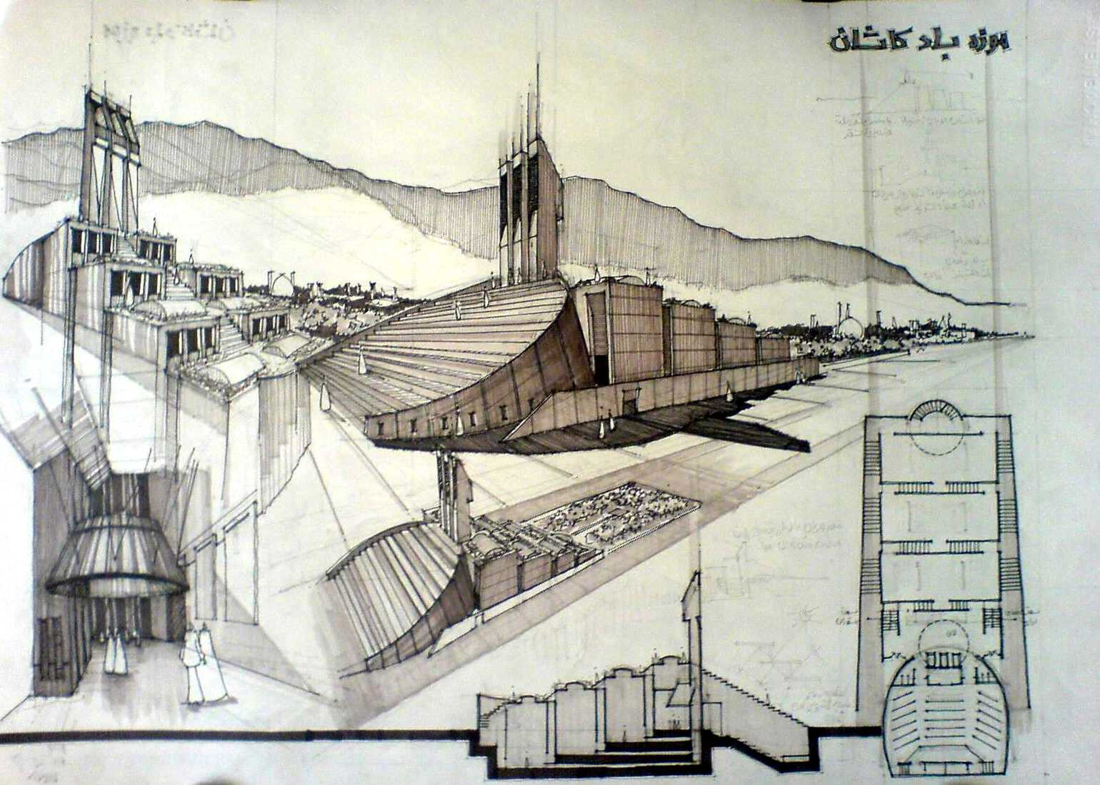 Architectural Sketchs By Ehsan Olian At Coroflot Com