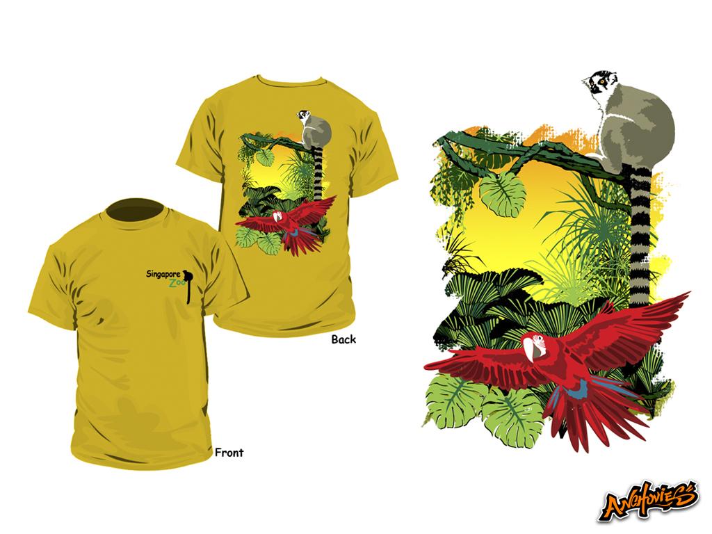 「singapore zoo T-shirt」の画像検索結果