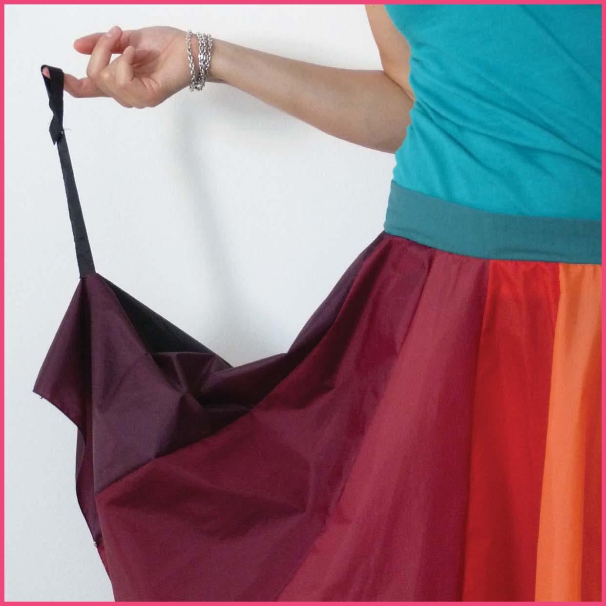 Как сделать юбку из зонтика своими руками