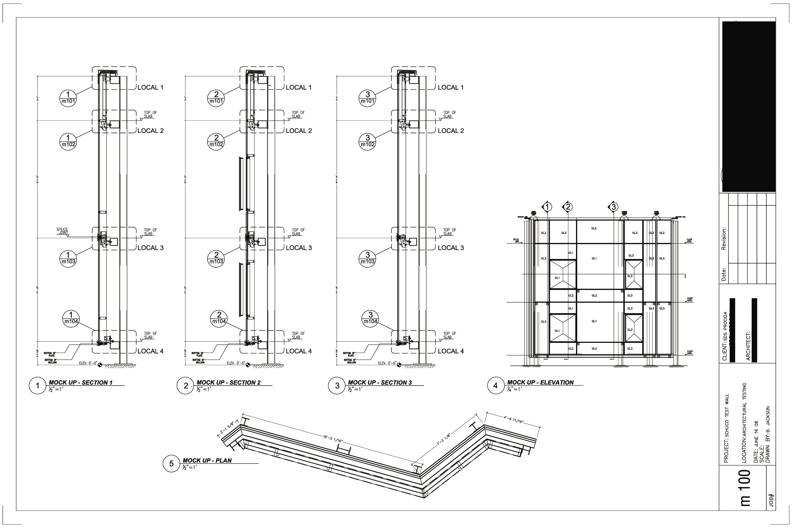 Curtain wall facade elevation - Curtain Wall Cad Drawing For Pinterest