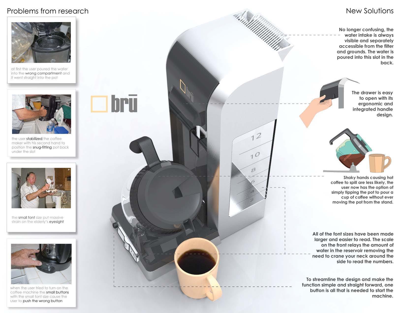 Bru Coffee Maker by Jordan Bailey at Coroflot.com