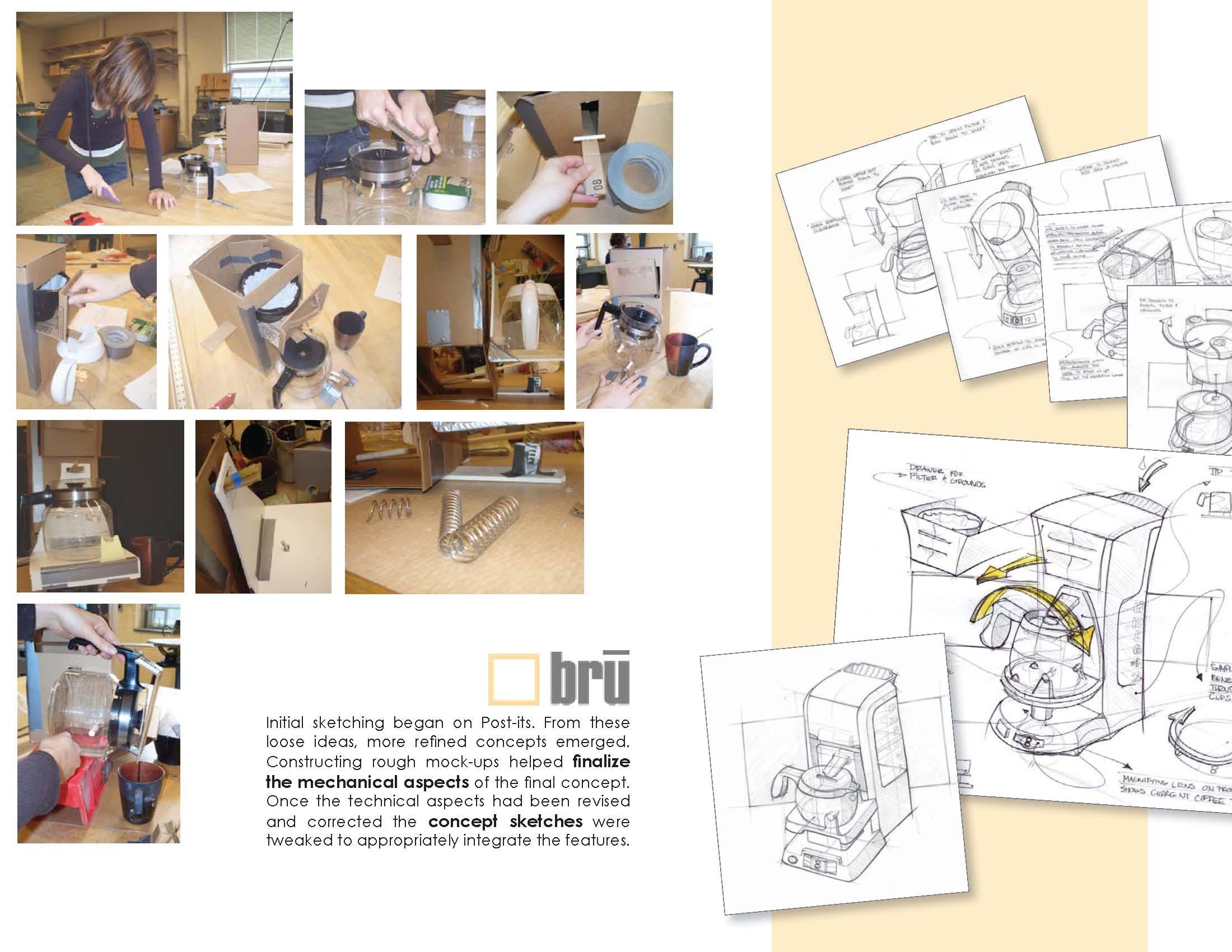 Coffee Maker In Jordan : Bru Coffee Maker by Jordan Bailey at Coroflot.com