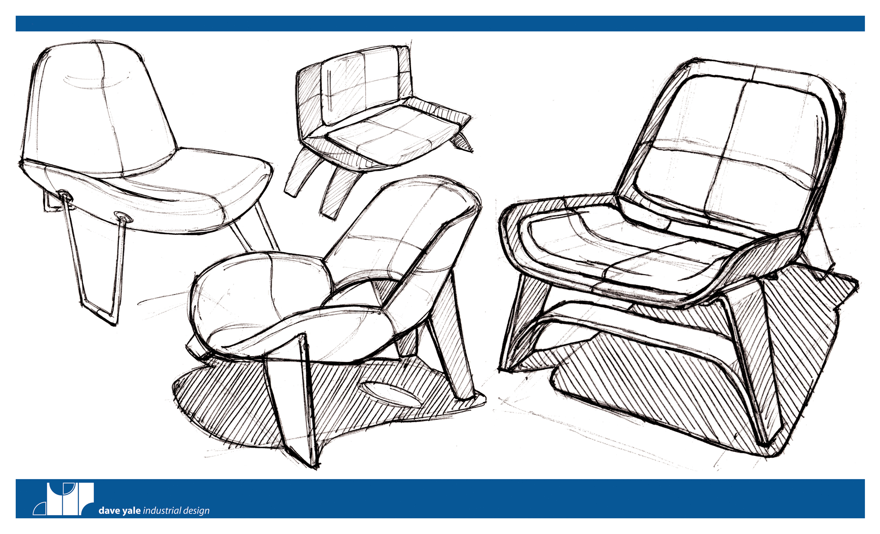 Furniture by dave yale at for Furniture design sketches