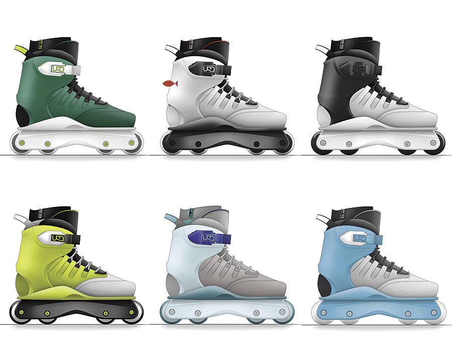 USD Empire Aggressive Inline Skates by Kyle Solá at ...